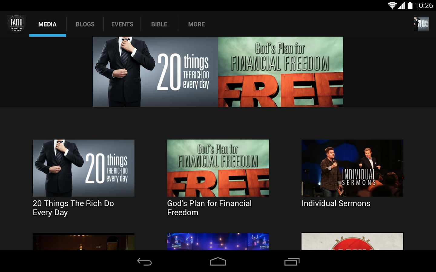 Faith Christian Center - screenshot