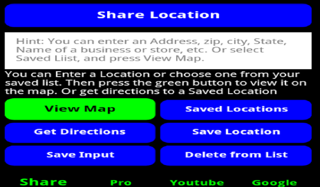 GPS Locator Free- screenshot
