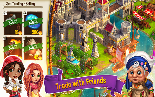 Игра CastleVille Legends для планшетов на Android