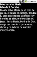 Screenshot of El Santo Rosario