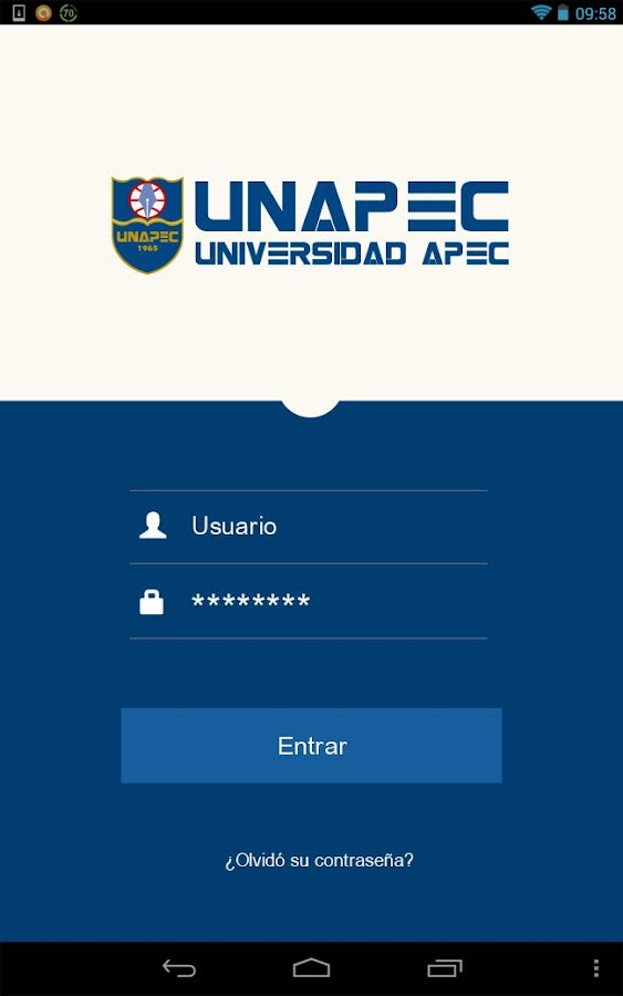EVA UNAPEC- screenshot