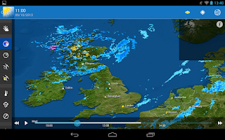 Screenshot of WeatherPro HD for Tablet