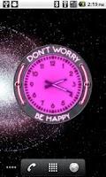Screenshot of 10 Pink Neon Clocks