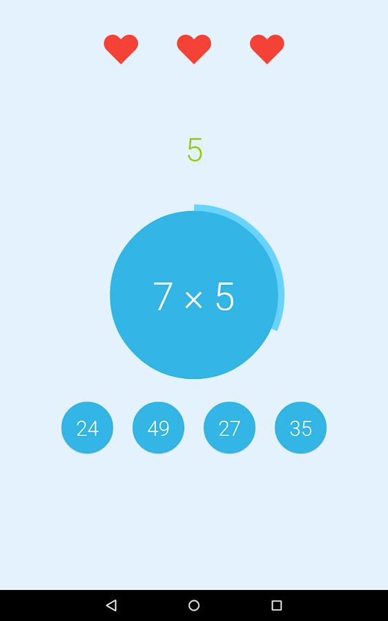 math it game