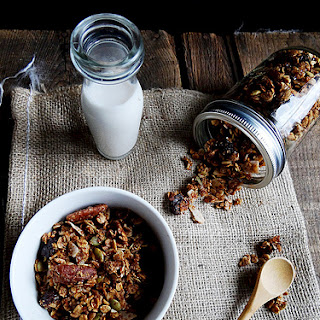 Cherry Pecan Maple Granola Recipe