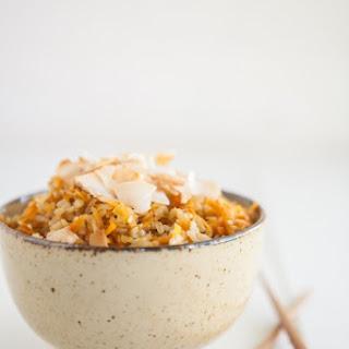 Carrot Ginger Rice.