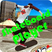 Skateboard Player