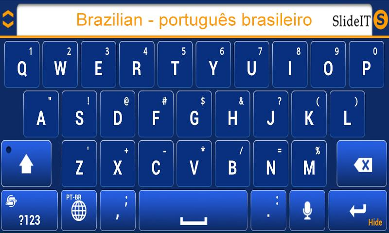 SlideIT Brazilian Pack - screenshot