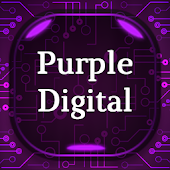 Purple Digital Keyboard