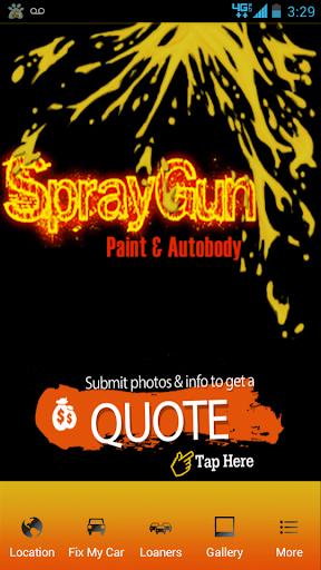 Spray Gun Auto Body