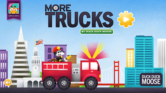 More Trucks by Duck Duck Moose