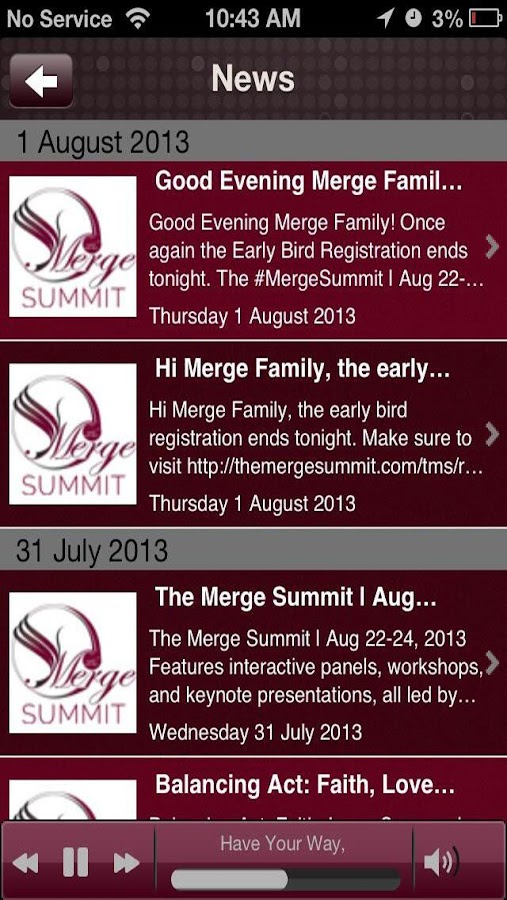 The Merge Summit - screenshot