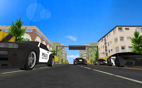 Police Car Racing 3D- screenshot thumbnail