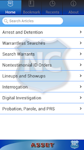 ASSET: Arrest-Search-Seizure- screenshot thumbnail