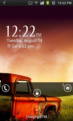 Sunset Truck Go Locker