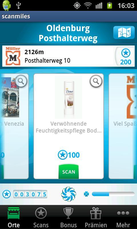scanmiles- screenshot