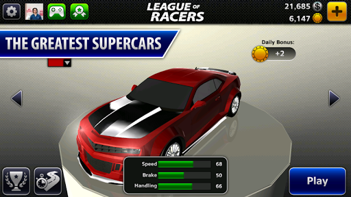 League of Racers: Race Game