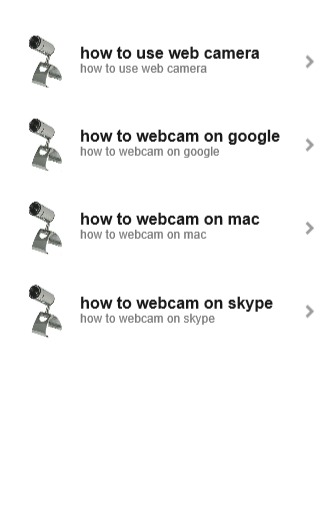 How to webcam for you