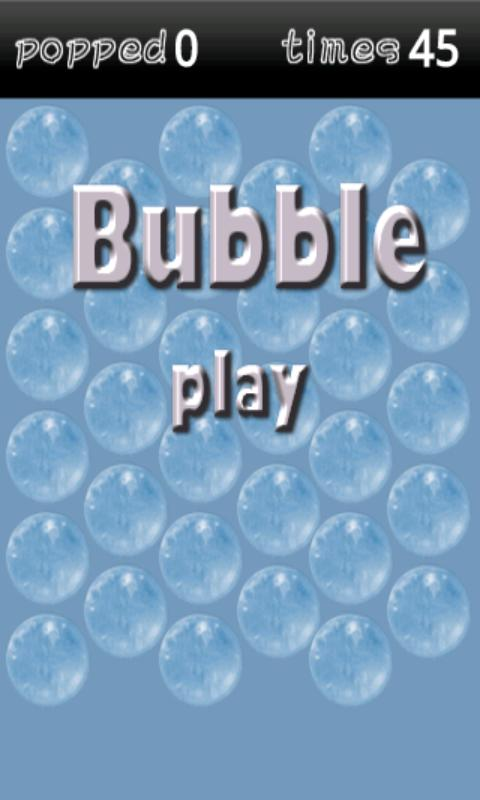 Bubble - screenshot