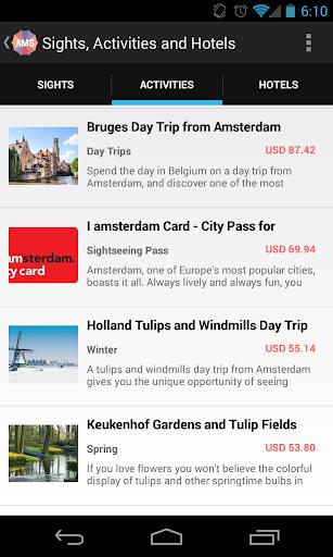 玩免費旅遊APP|下載Holidayen Amsterdam Guide app不用錢|硬是要APP