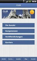 Screenshot of CLLB Rechtsanwälte