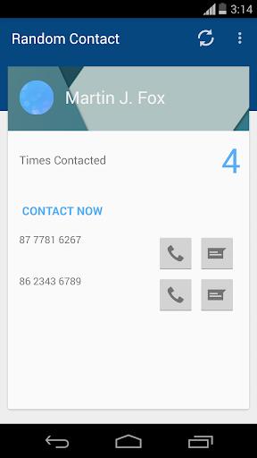 Random Contact