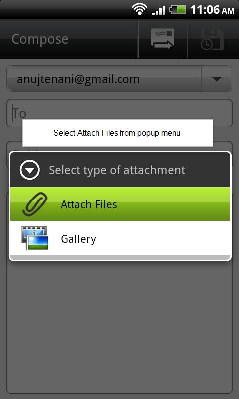 Attachments [Gmail Attach] - screenshot