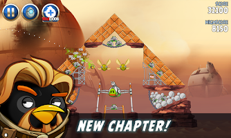 Screenshot of Angry Birds Star Wars II