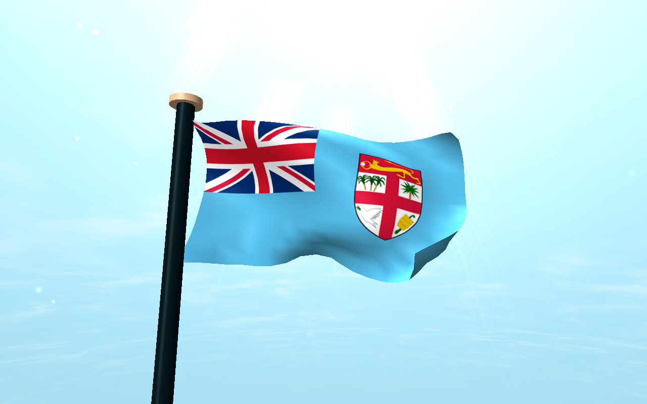 Fiji Flag 3d Free Wallpaper Android Apps On Google Play