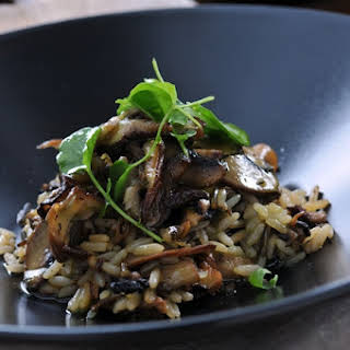 Shiitake and Portobello Mushroom Wild Rice.