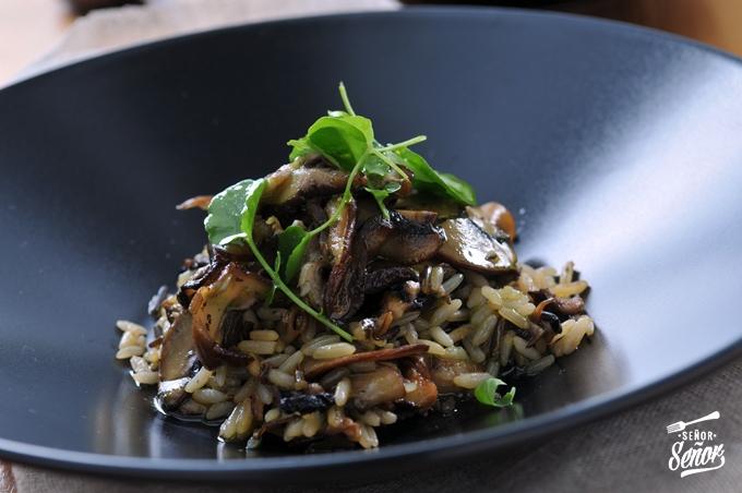 Shiitake and Portobello Mushroom Wild Rice Recipe
