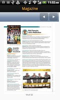 Screenshot of VYPE Central Indiana