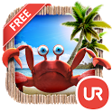 UR 3D Beach Island Live Theme icon