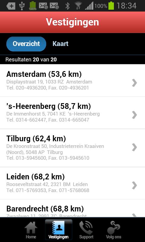 Conelgro Mobile - screenshot