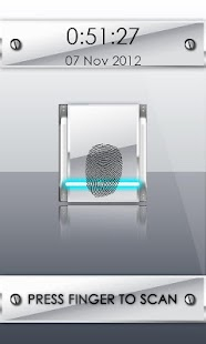 White FingerPrint Security - screenshot thumbnail