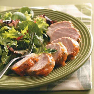 Apricot-Glazed Pork Tenderloin for Two
