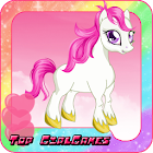 Cute pony care – girl game icon