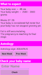 Pregnancy calculator- screenshot thumbnail
