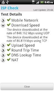 ISP Check- screenshot thumbnail