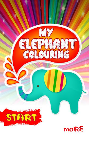 My Elephant Coloring