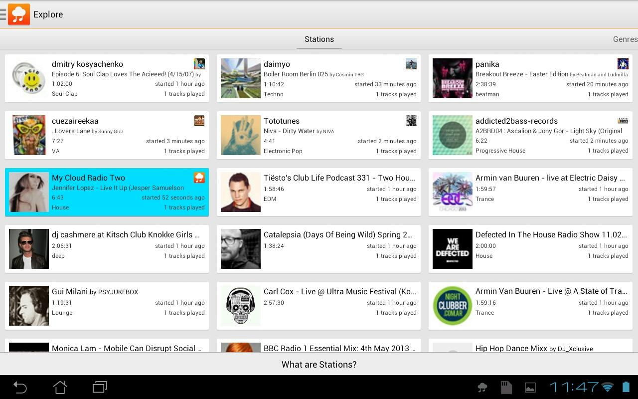My Cloud Player for SoundCloud - screenshot