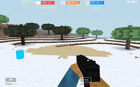 Cube Gun 3D : Winter Craft 1.0 screenshot 44135