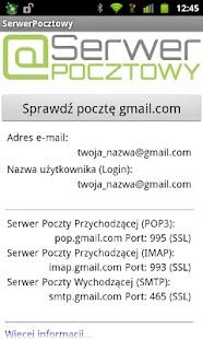 SerwerPocztowy - Poczta e-mail- screenshot thumbnail