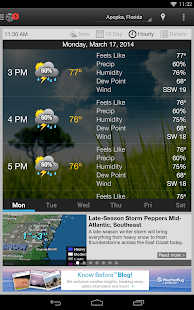 WeatherBug - Forecast & Radar Screenshot 37