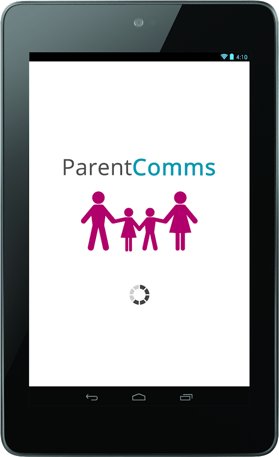 ParentComms- screenshot