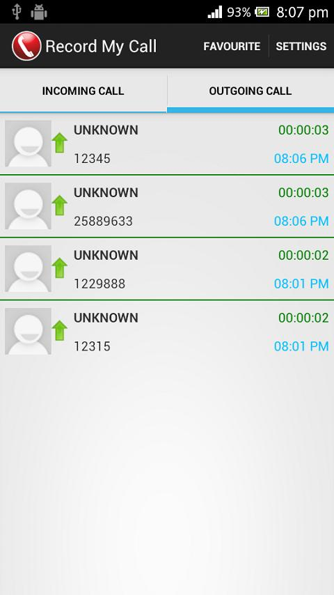 Record My Call - screenshot