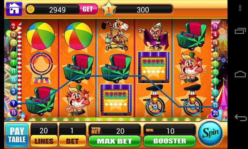 Circus slot machine free