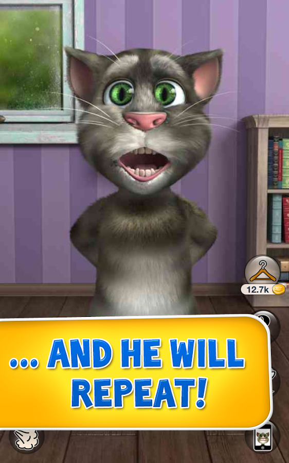 Talking Tom Cat 2 Free - screenshot