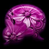 GO SMS - Plum Blossom