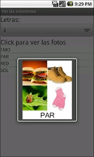4 fotos 1 palabra SOLUCIONES - screenshot thumbnail